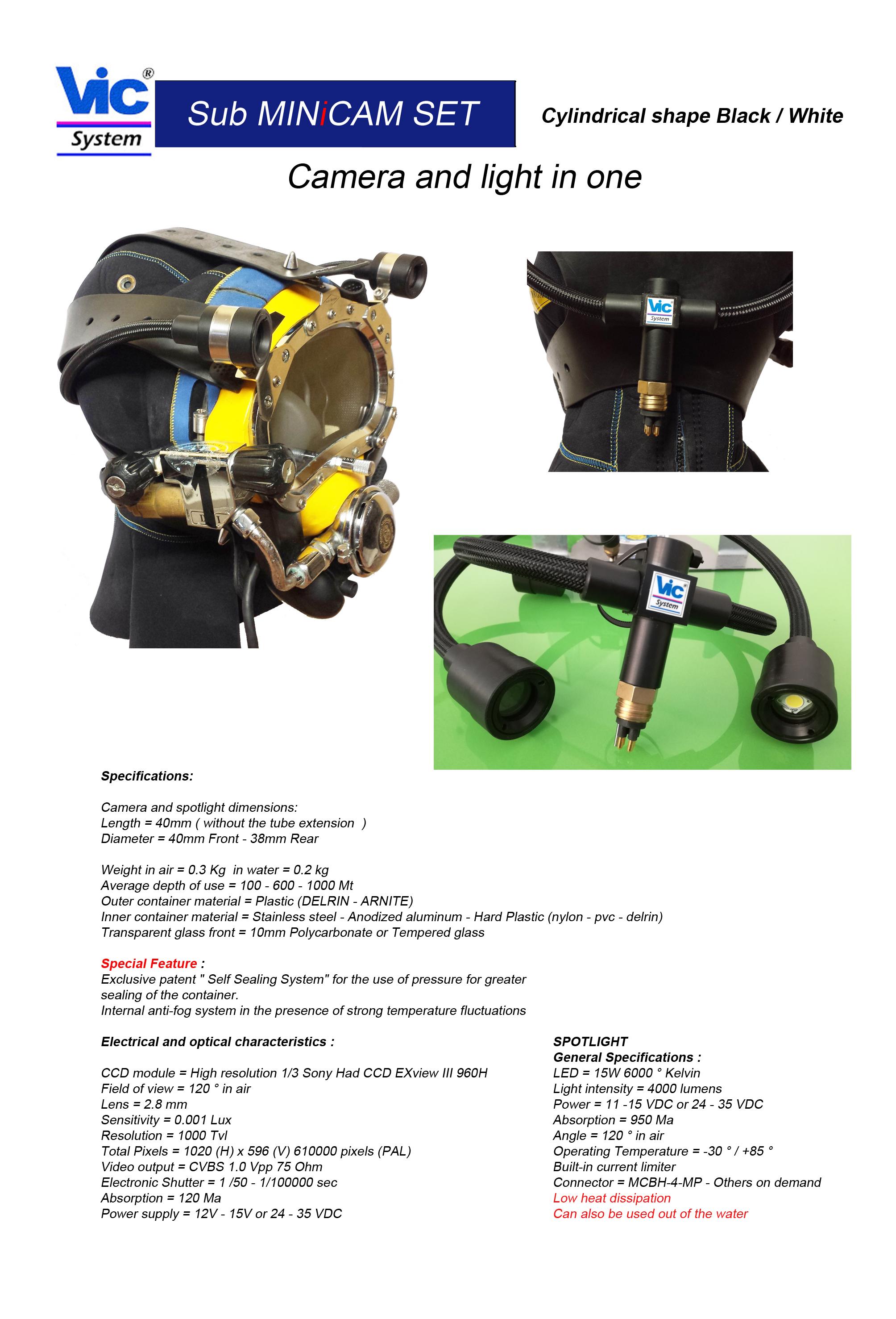 VicSystem RSM ::: underwater video system, UW video